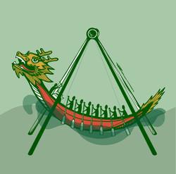 Swinging Dragon Boat
