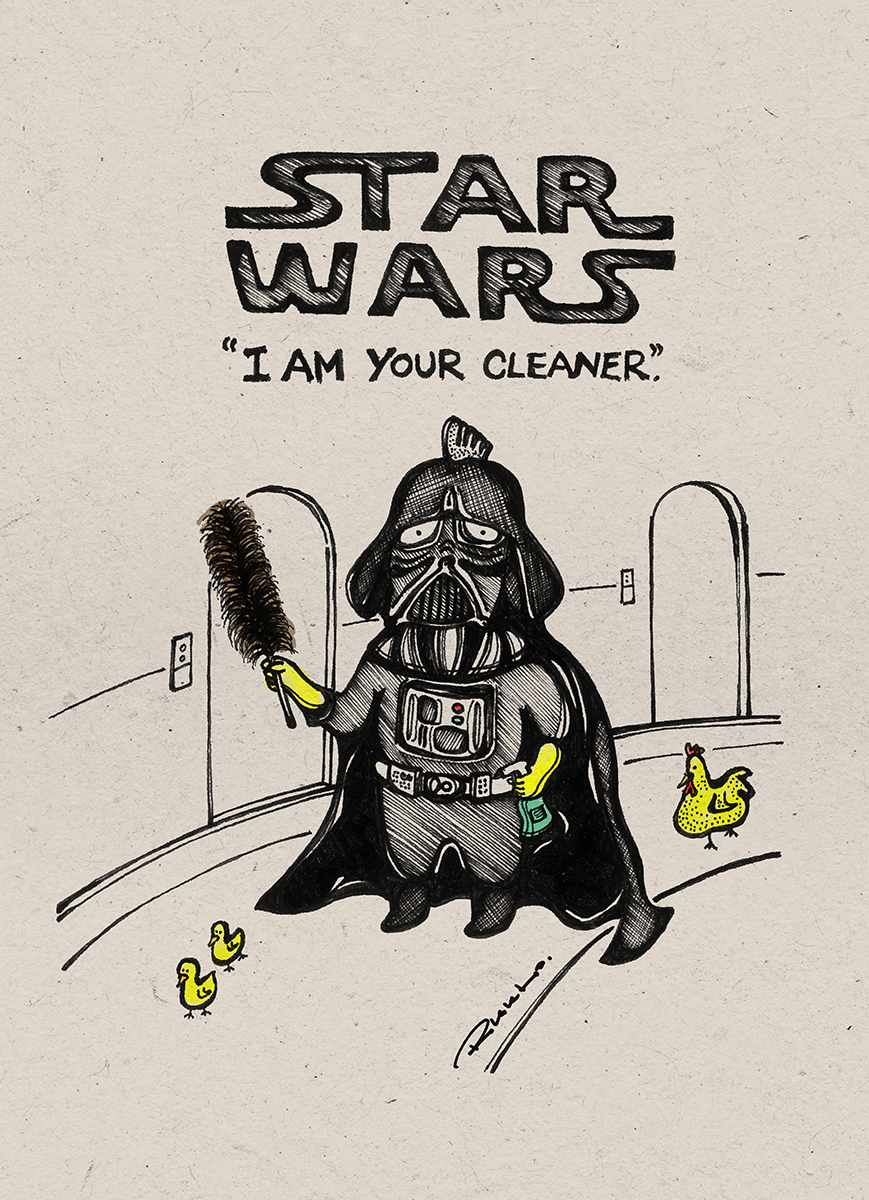 """I am Your Cleaner."""