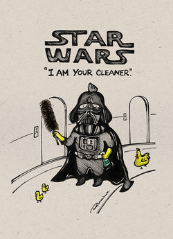 """""""I am Your Cleaner."""""""