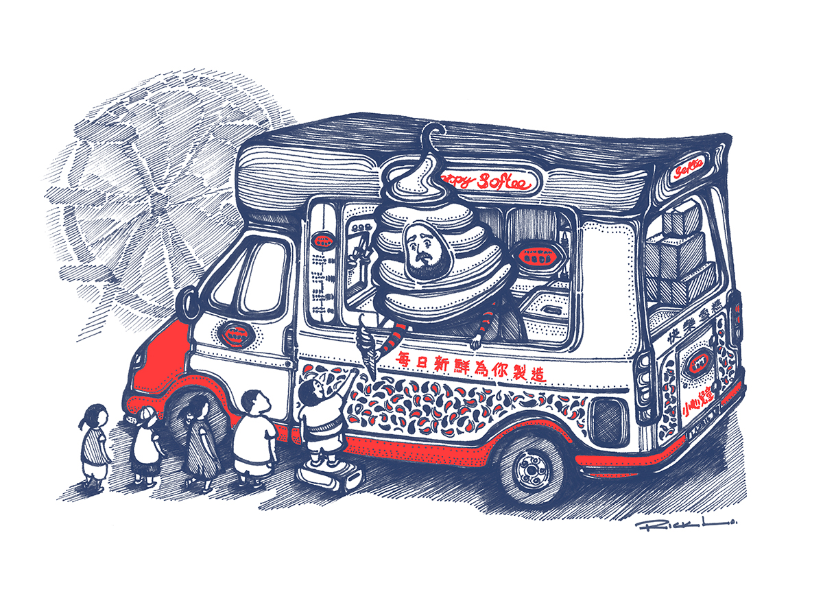 Happiness Ice-cream Truck