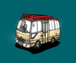 When Chris Patten on a Minibus