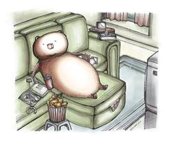 Lazy Afternoon Bear