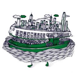 The Green Hong Kong Ferry