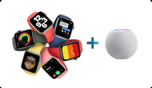 New Apple SE Watch + New HomePod Mini Speaker