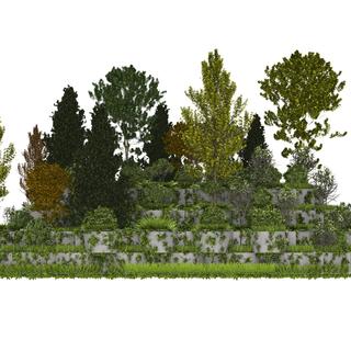 Lag ditt eget landskap med legoprinsippet.