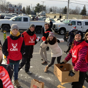 Guignolée: une expérience de bénévolat local