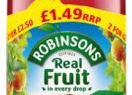 Robinsons Fruit Squash Summer Fruits 1lt