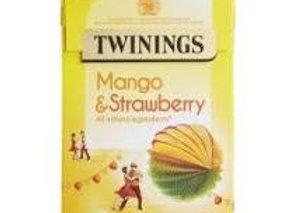 Twining Mango & Strawberry Tea 20s