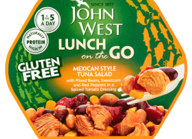 John West Mexican Style Tuna Salad Lunch on the Go 220g