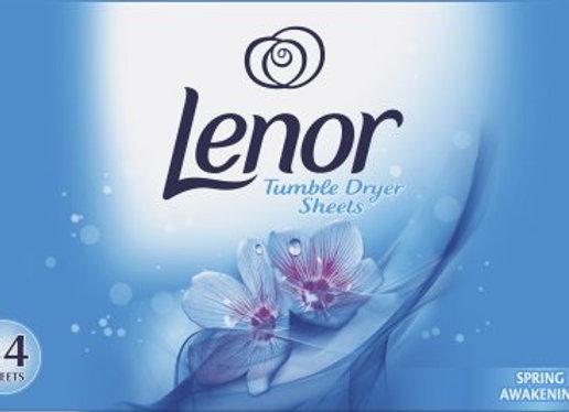 Lenor Tumble Dryer Sheets Spring 34's