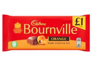 Cadbury Bournville Orange Dark Chocolate Bar 100g
