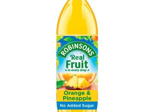 Robinsons Orange Pineapple Squash 1lt