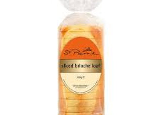 St Pierre Brioche Sliced Loaf 500gr