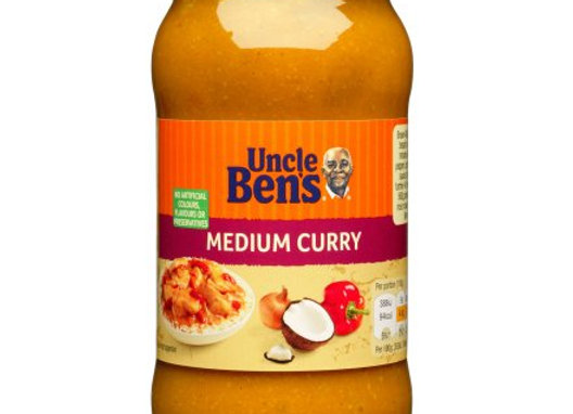 Uncle Bens Curry Sauce Medium