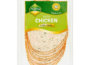 Najma Halal Sliced Chicken Breast With Herbs 150g