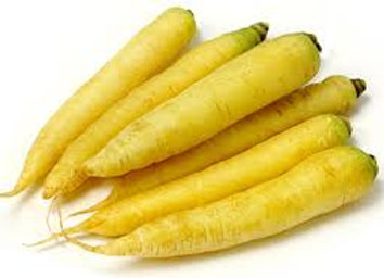 Yellow carrots 500 G
