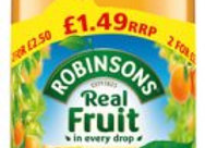 Robinsons Fruit Squash Orange 1lt