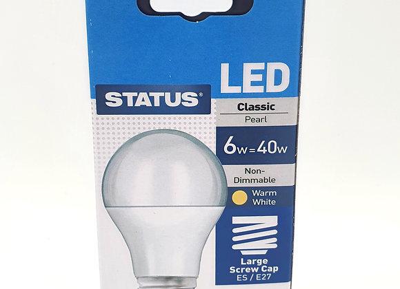 Led Es Warm White Light Bulb 40w