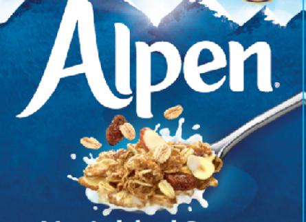 Alpen No Added Sugar 500gr