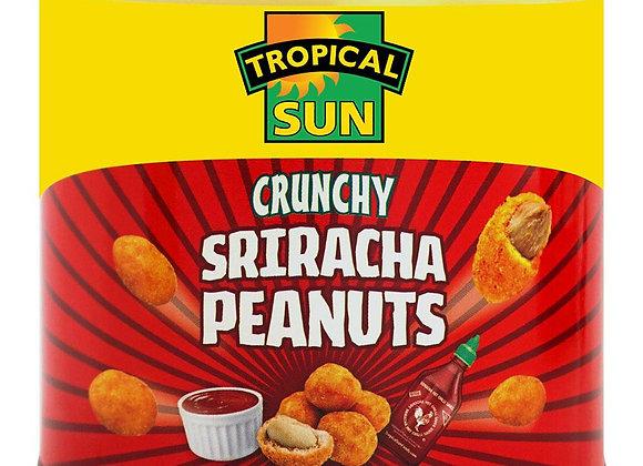 TROPICAL SUN CRUNCHY SRIRACHA PEANUTS 140g