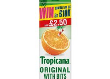 Tropicana Original Orange Juice 850ml