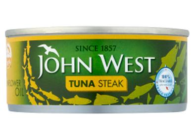 John West Tuna Steak in sunflower oil 160 g