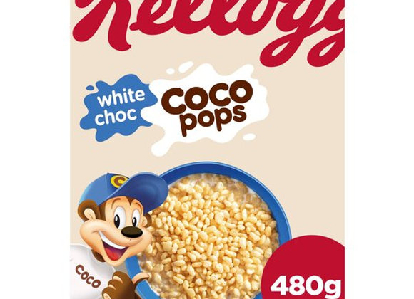 Kelloggs White Coco Pops 480 g