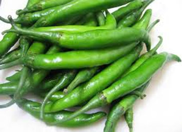 Green chillies 100G