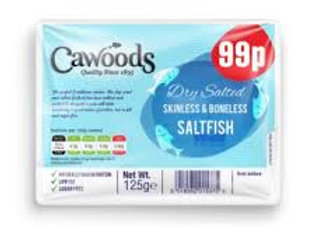 Cawoods Skinless & Boneless Dried Salted Cod 100g