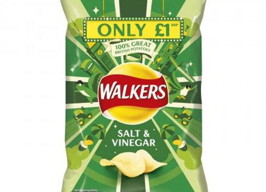 Walkers Salt & Vinegar 65g