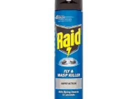 Raid Fly and Wasp Killer 300g