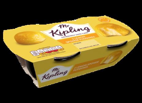 Mr Kipling Lemon Sponge Pudding 108g