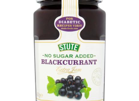 Stute No Added Sugar Blackcurrent Jam 430 g