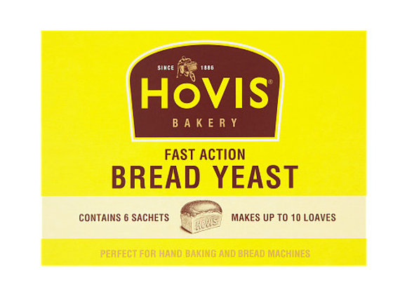 Hovis Fast Action Bread Yeast 6x7g