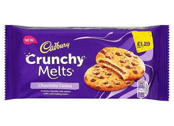 Cadbury Crunchy Melts Chocolate Centre  Cookies 156g