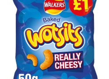 Walkers Wotsits Really Cheesy Snacks 50g