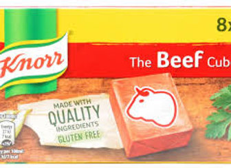 Knorr Beef Stock Cube 8's