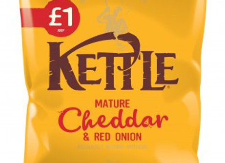 Kettle Chips  Mature Cheddar & Red Onion 80g