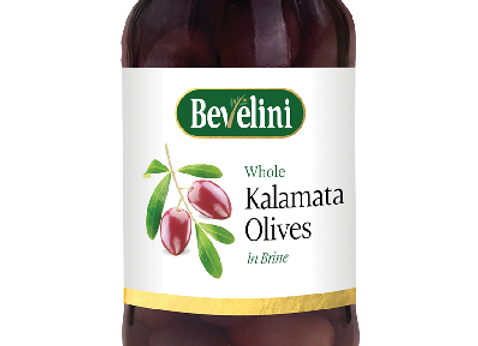Bevelini Kalamata Olives whole 360g