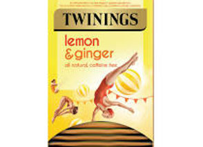 Twining Lemon&Ginger Tea 20s