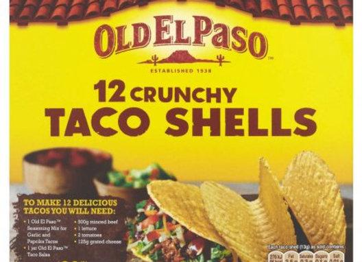 Old El Paso Taco Shells  12's 156g