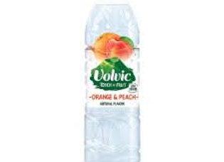 Volvic Orange & Peach Water 1.5 Lt