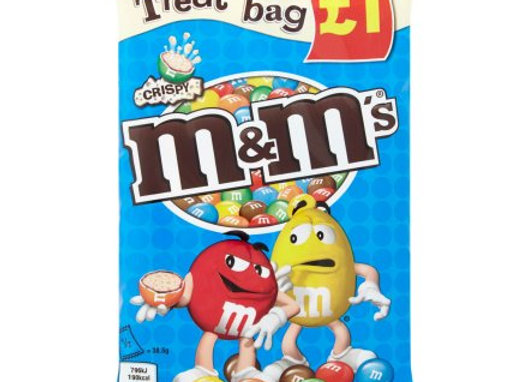 M&M Crispy Treat Bag 77g