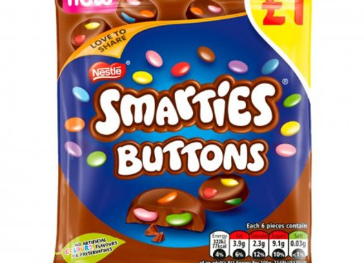 Smarties Buttons Pouch 78g