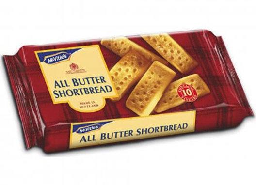 McVities All Butter Shortbread 200gr