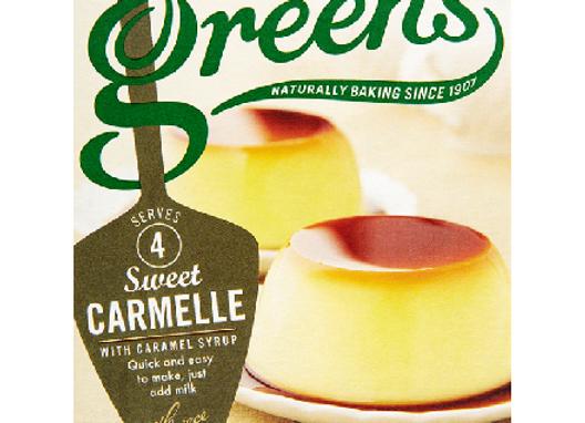 Green's Classic Carmelle Dessert Mix 70g