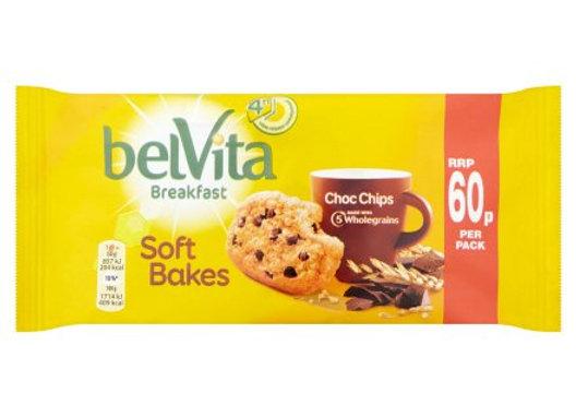 Belvita Soft Bakes Choc Chip Breakfast Biscuits 50g