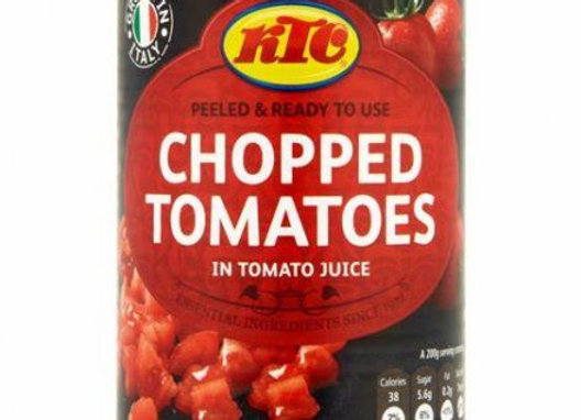 KTC Chopped Tomatoes in Tomato Juice 400 G