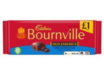 Cadbury Bournville Old Jamaica Dark Chocolate Bar 100g