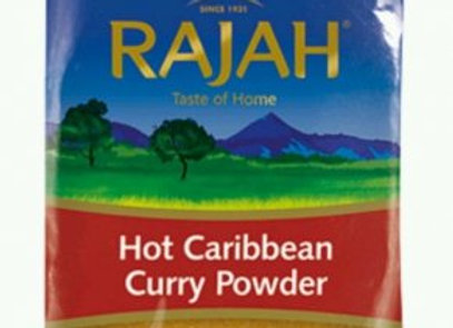 Rajah Hot Caribbean Curry Powder 100 g